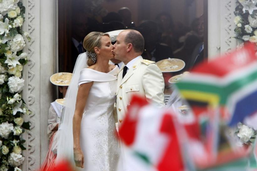 Monaco Prince Albert II and Princess Charlene