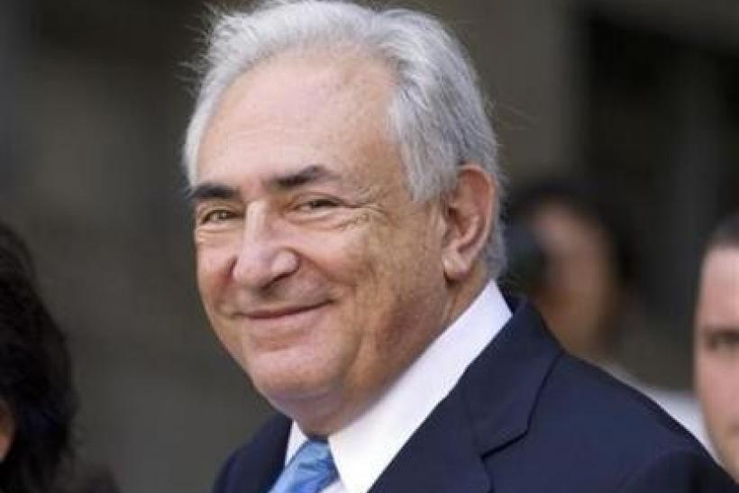 Former IMF Director Dominique Strauss-Kahn