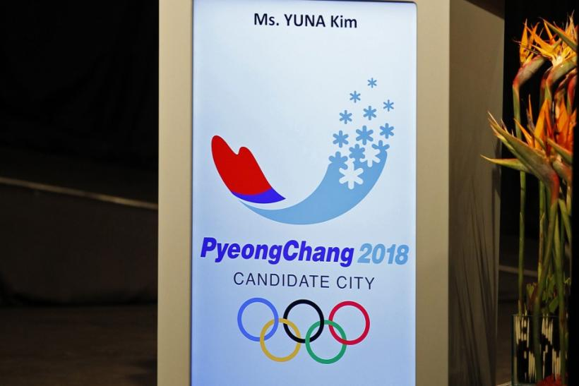 South Korean skater Kim Yuna speaks during the presentation of the Pyeongchang 2018 bid