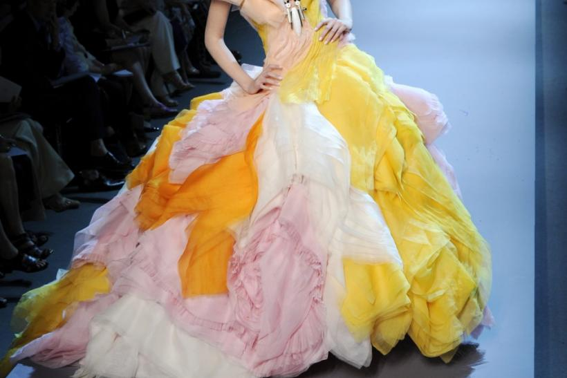 Top Fashion Designers Show Off Their Creations In Paris Haute Couture Fall Winter 2011 2012 Fashion Show
