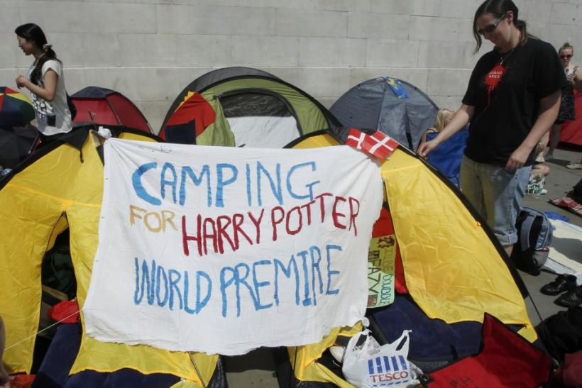Harry Potter Fans at Premiere