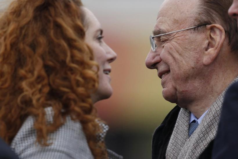 News Corp Chief Executive Rupert Murdoch and News International Chief Executive Rebekah Brooks