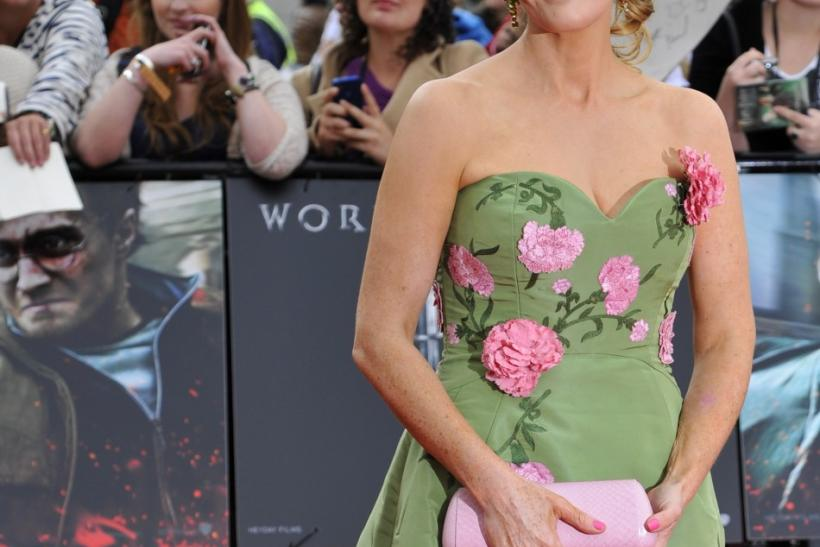 "Author J K Rowling arrives at the world premiere of ""Harry Potter and the Deathly Hallows - Part 2"" in Trafalgar Square, in central London"
