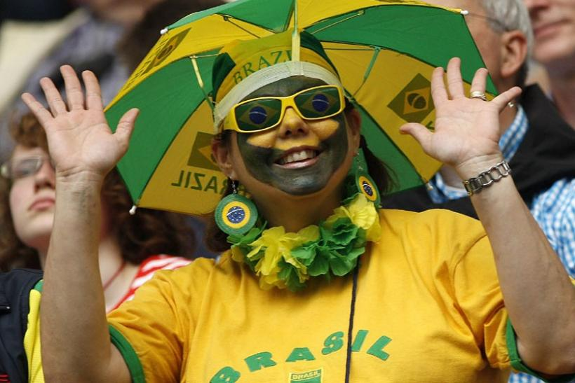 Another supporter of Brazil