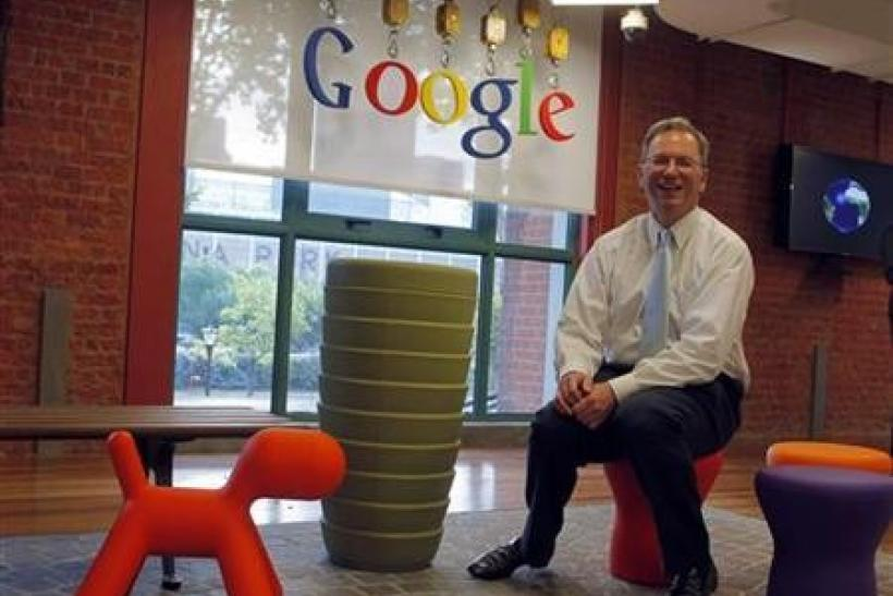Google's Chief Executive Officer Eric Schmidt