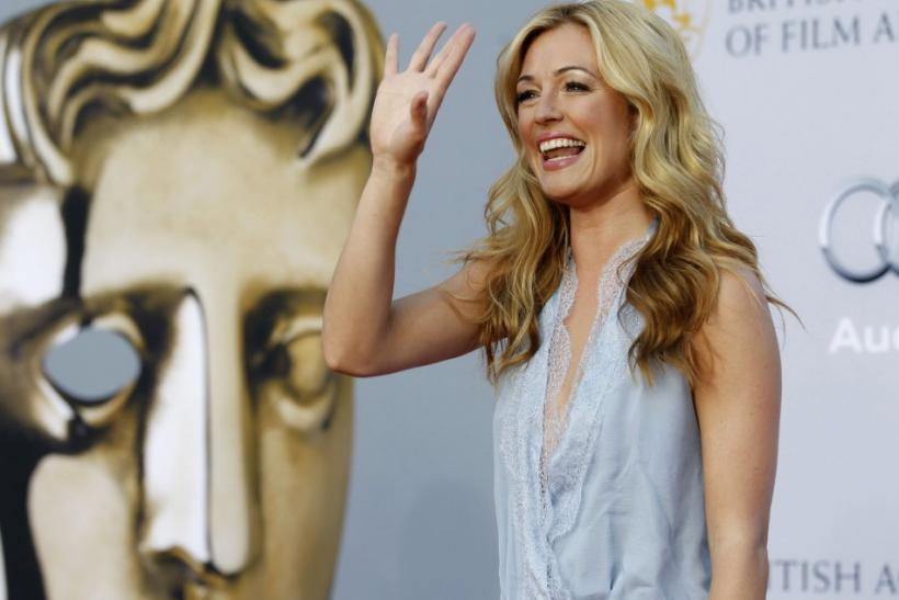 TV host Cat Deeley arrives at the BAFTA Brits to Watch event in Los Angeles