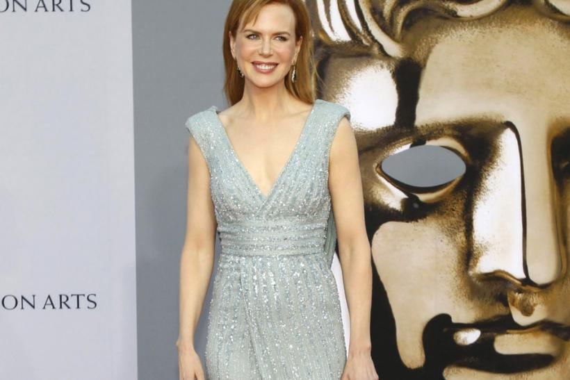 Nicole Kidman poses at the BAFTA Brits to Watch event in Los Angeles