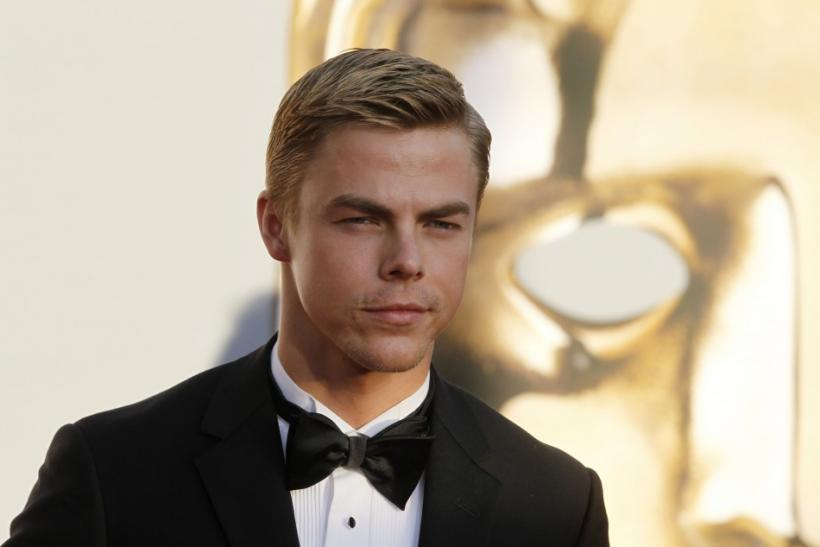 Dancer Derek Hough arrives at the BAFTA Brits to Watch event in Los Angeles