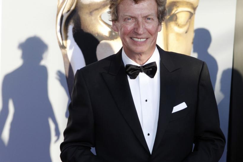 American Idol producer Nigel Lythgoe arrives at the BAFTA Brits to Watch event in Los Angeles