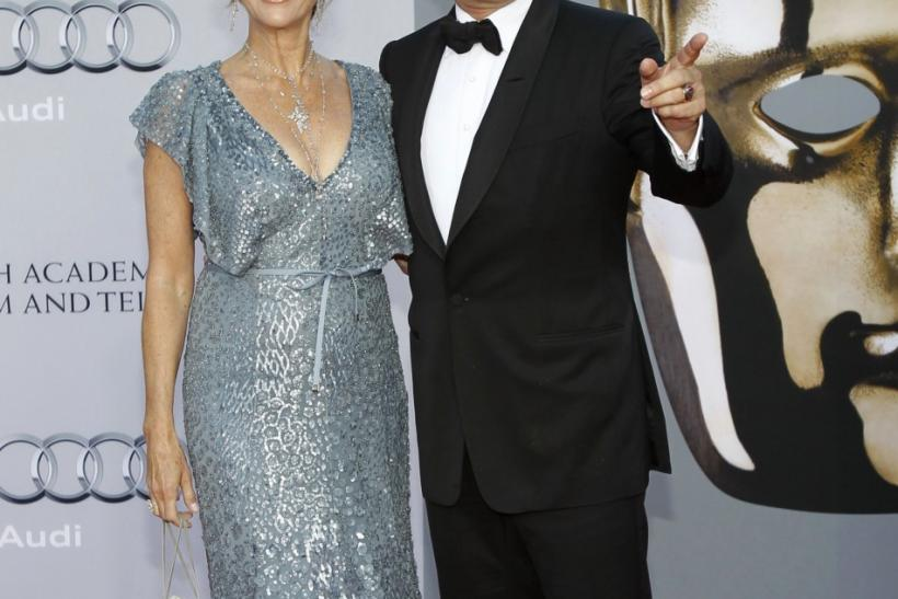 Tom Hanks and Rita Wilson arrive at the BAFTA Brits to Watch event in Los Angeles