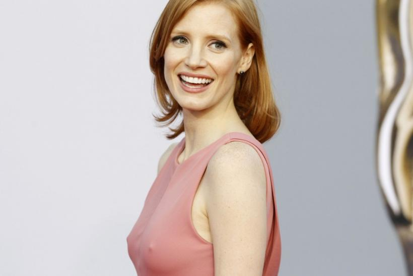 Actress Jessica Chastain arrives at the BAFTA Brits to Watch event in Los Angeles