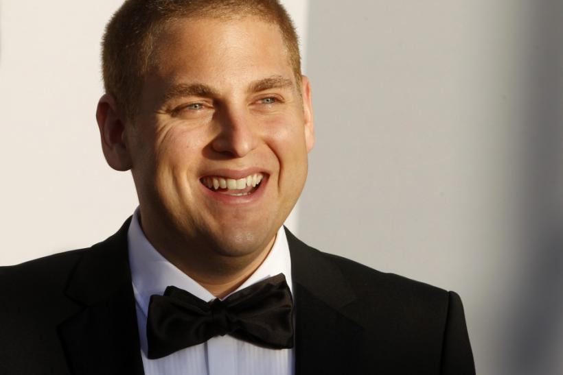 Actor Jonah Hill arrives at the BAFTA Brits to Watch event in Los Angeles