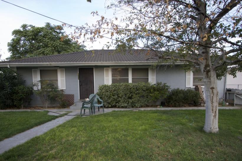 The home of registered sex offender and convicted rapist Phillip Garrido is seen in Antioch, California
