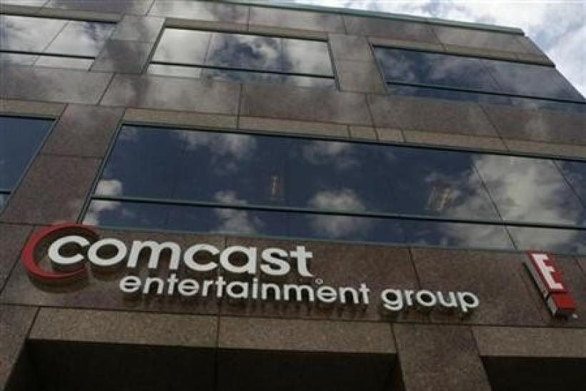 The offices and studios of Comcast Entertainment Group