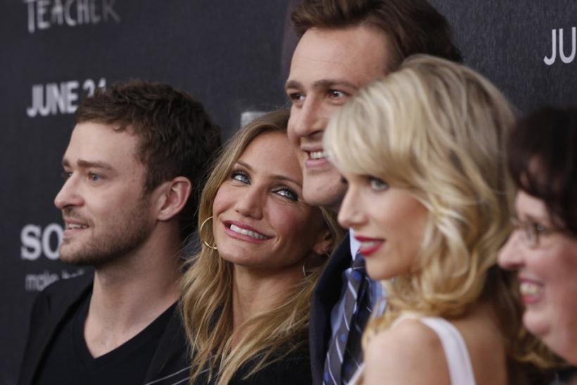 Bad Teacher cast members in New York