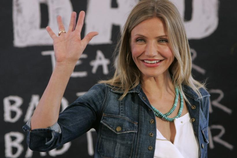 U.S. Actress Cameron Diaz in Cancun