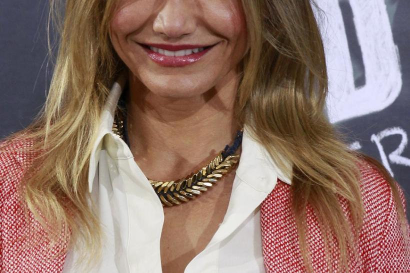 U.S. actress Cameron Diaz in Madrid
