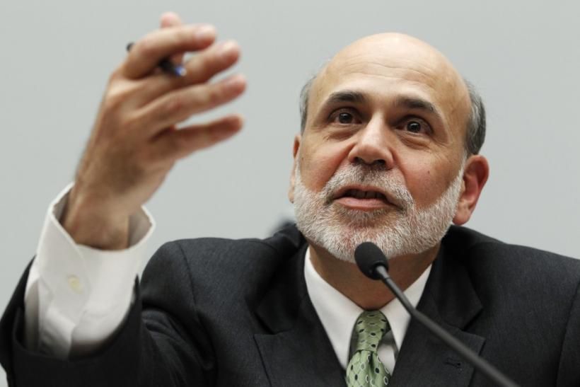 Ben Bernanke testifies before the House Financial Services Committee hearing on Capitol Hill in Washington