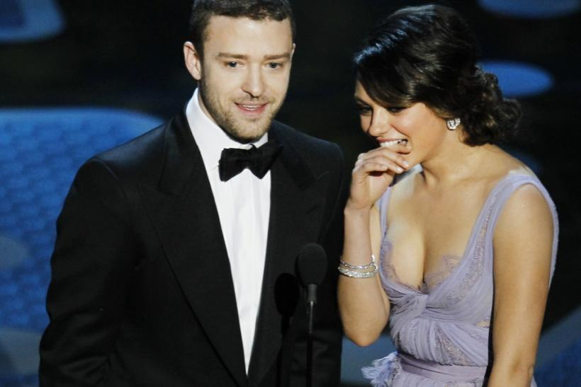 Timberlake and Kunis Oscars