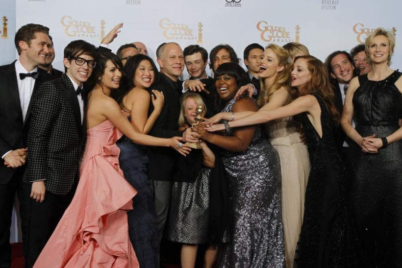 """Glee"" nominated for Best Comedy, stars Chris Colfer and Jane Lynch were nominated for Supporting Actor and Actress."