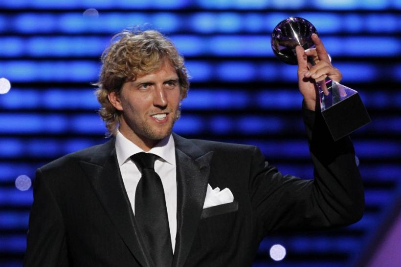 Dallas Mavericks NBA player Dirk Nowitzki