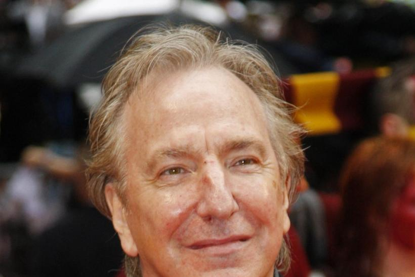 "The stage comedy ""Seminar"" is nearing its Broadway premiere Sunday with Alan Rickman, who's already made history for how he handled a preview performance Thursday -- he cancelled it."