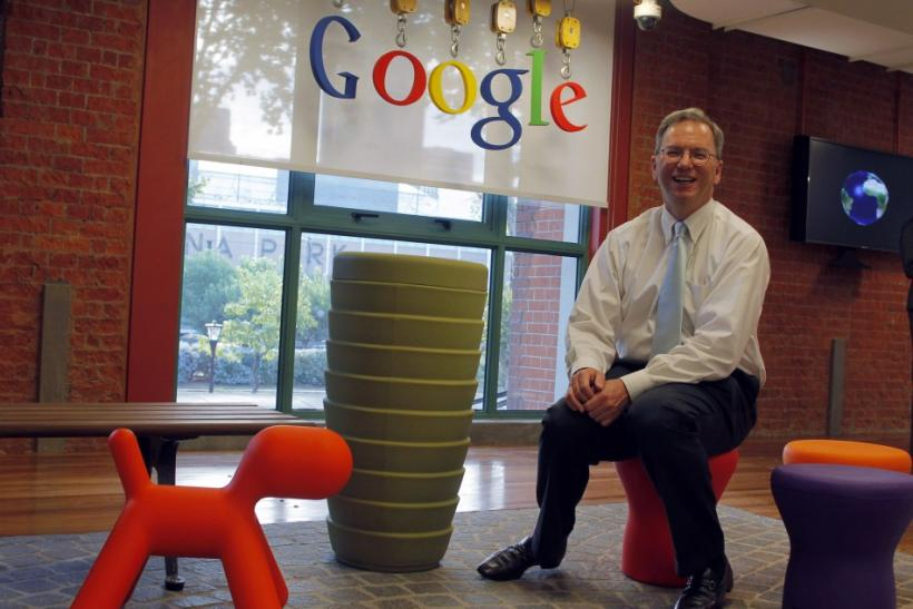 Google CEO Chairman poses during an interview in Buenos Aires