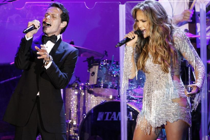 Lopez and her husband Anthony perform at the Carousel of Hope Ball in Beverly Hills