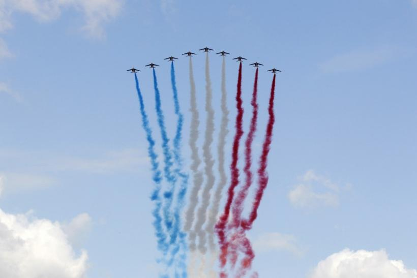 Glorious Moments Of Bastille Day 2011