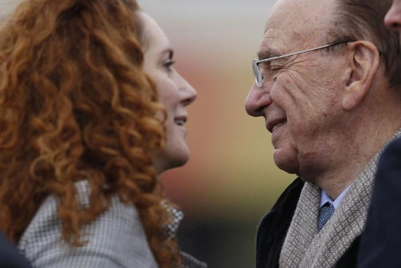 News Corp Chief Executive Rupert Murdoch and former News International Chief Executive Rebekah Brooks