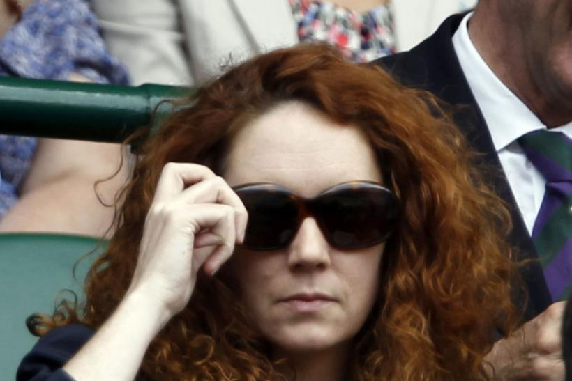 Rebekah Brooks at Wimbledon 2011