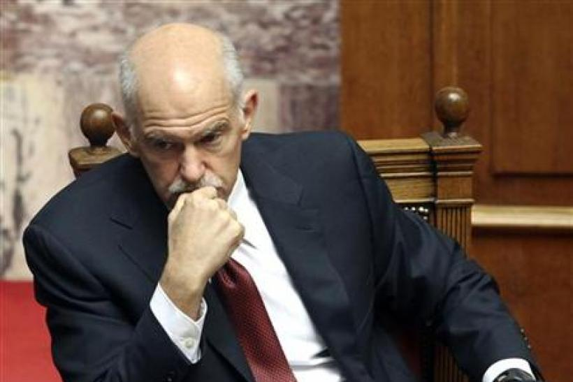 Greece's former Prime Minister George Papandreou