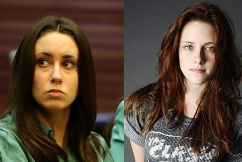 Casey Anthony (left) and Kristen Stewart