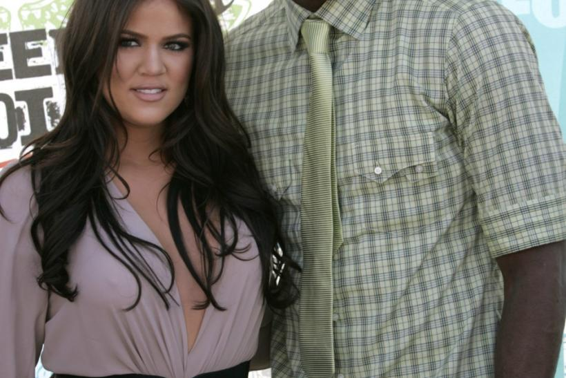 TV personality Khloe Kardashian and NBA player Lamar Odom
