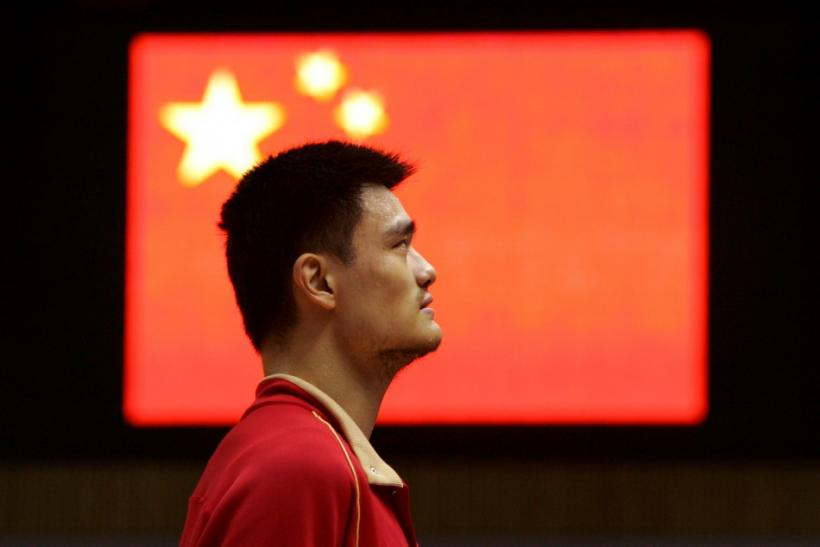 Chinese basketball superstar Yao Ming