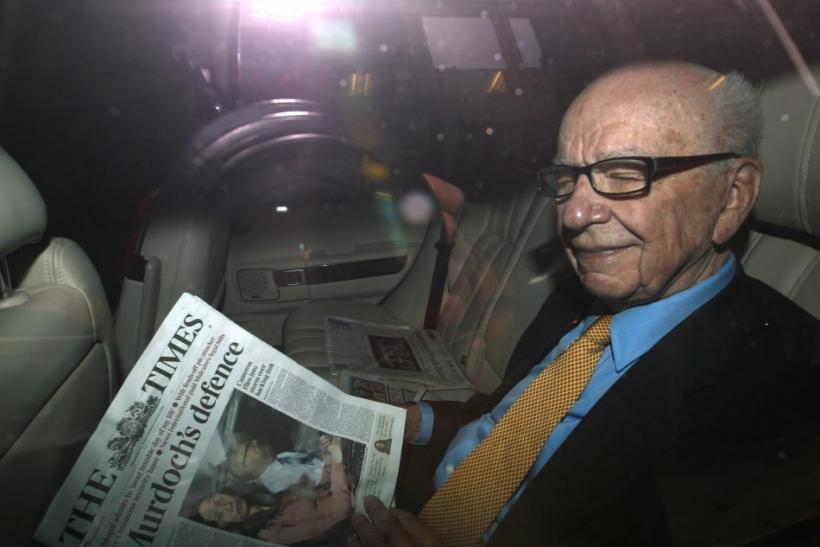 News Corp. Chief Executive and Chairman Rupert Murdoch