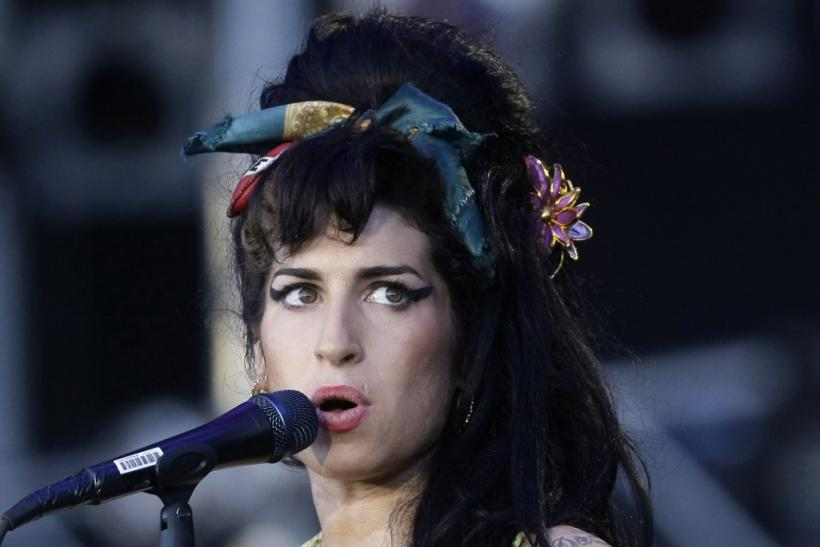 "British singer Amy Winehouse performs during the ""Rock in Rio"" music festival in Arganda del Rey, near Madrid July 4, 2008"