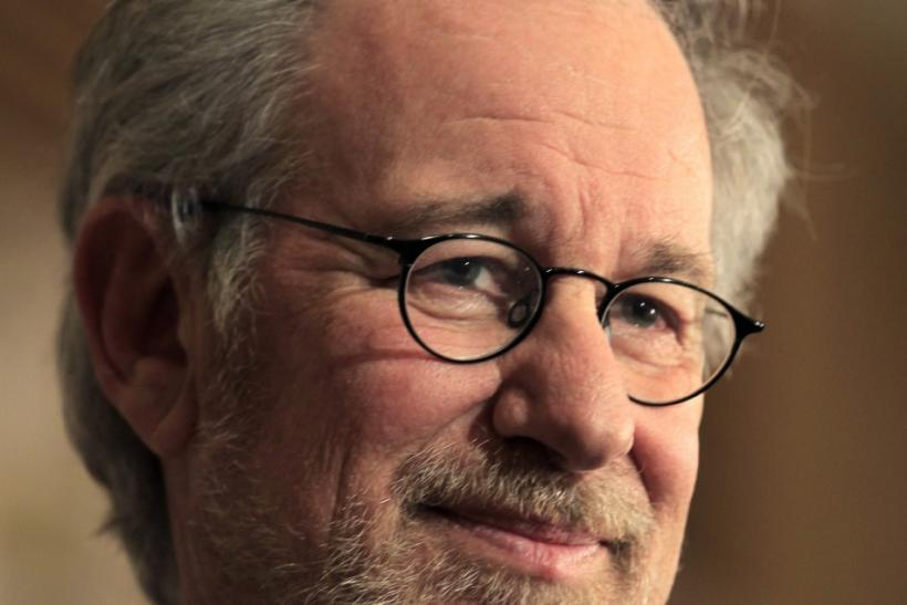 "Director Steven Spielberg makes his inaugural appearance at Comic Con in promotion of his upcoming motion picture ""The Adventures of Tin Tin"" in San Diego"