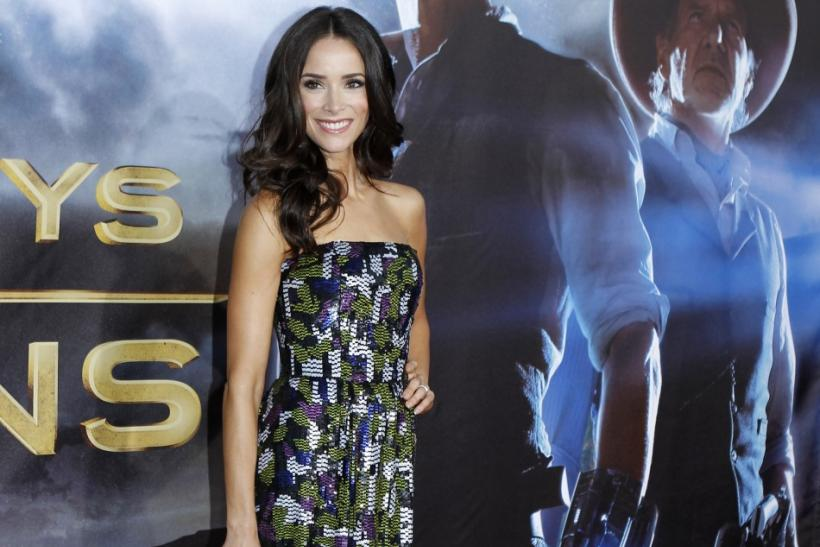 "Actress Abigail Spencer arrives for the world premiere of ""Cowboys & Aliens"" in California"