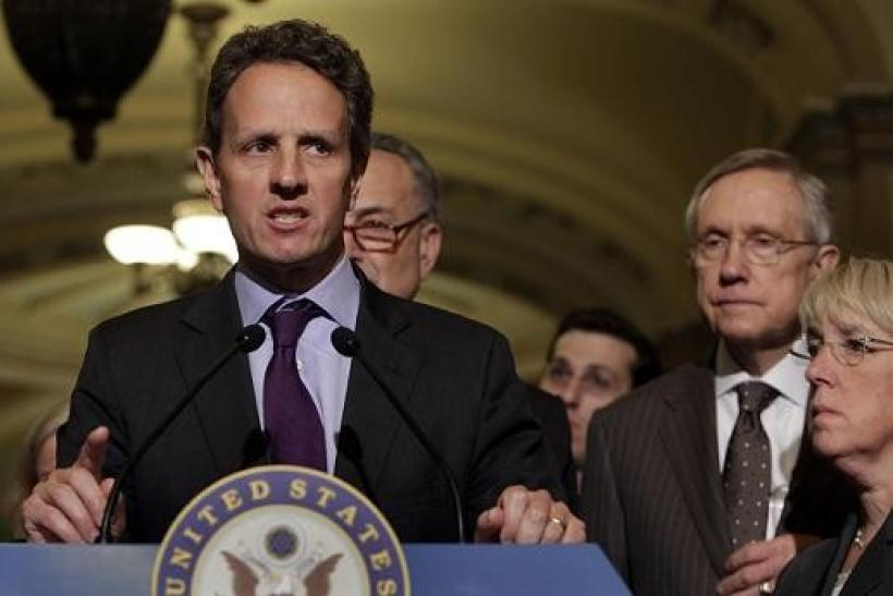U.S. Treasury Secretary Timothy Geithner