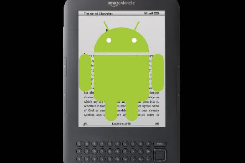 Will the new Amazon tablet will bean Android-powered Kindle?