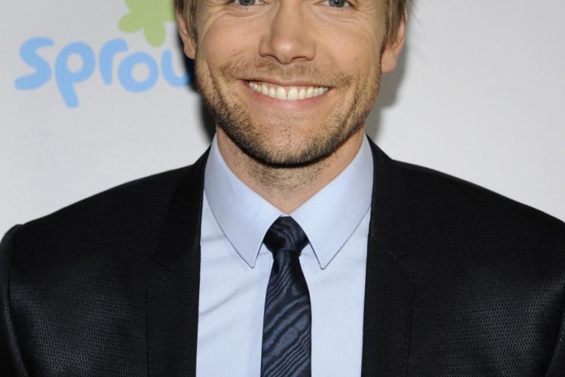 TV personality Joel McHale attends the NBC Universal Press Tour All-Star Party in Beverly Hills, California