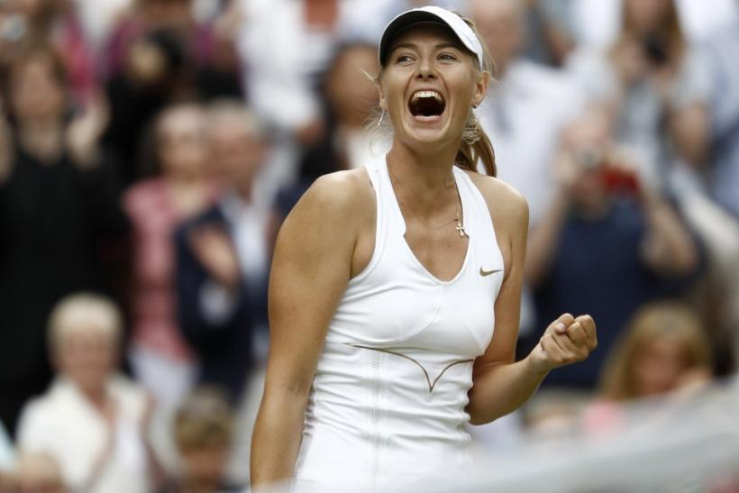 No. 1 Maria Sharapova - Total Earning: $25 million