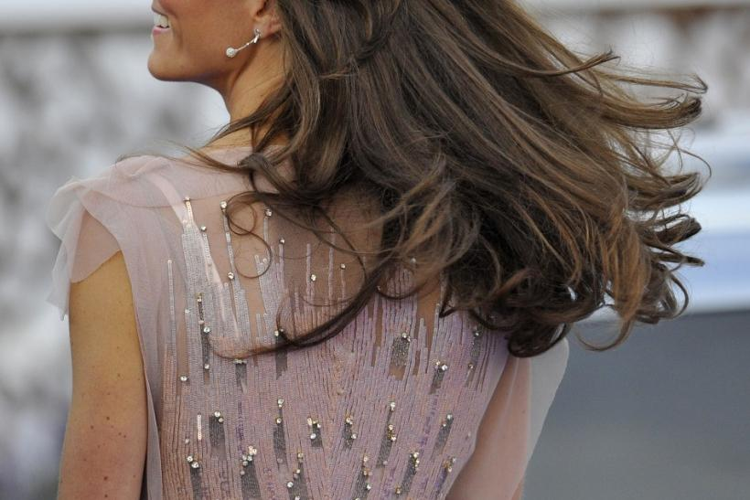 Kate Middleton shines in her sparkling dress