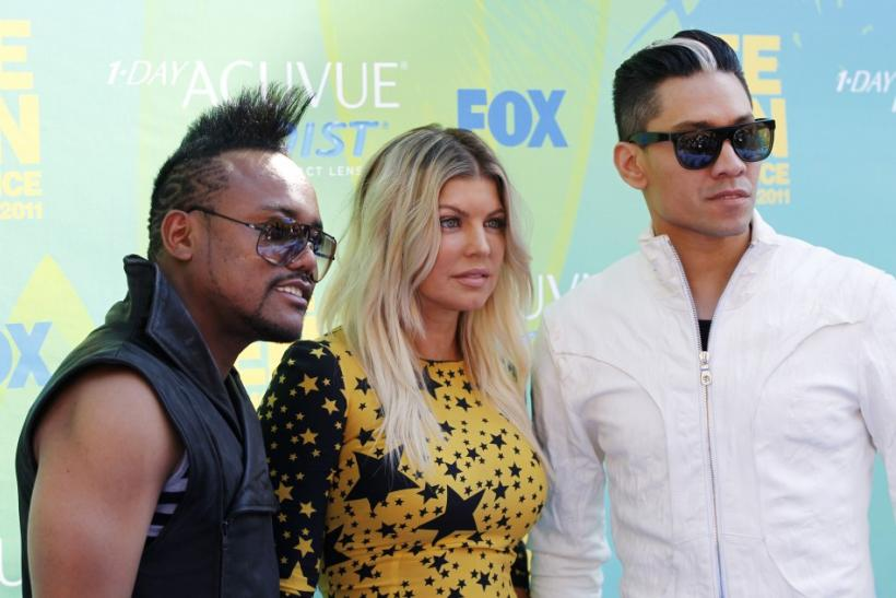 Apl.de.ap., Fergie, and Taboo, from the Black Eyed Pea