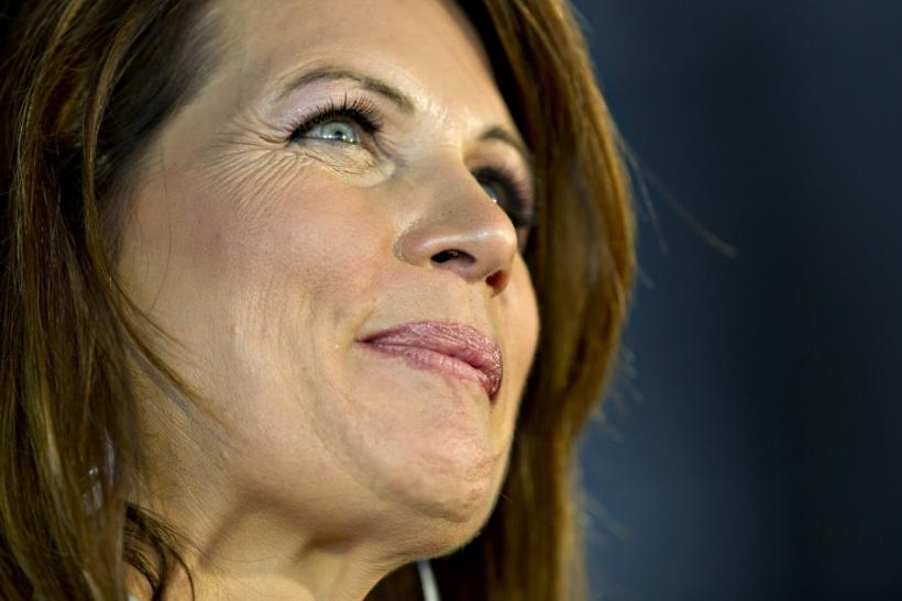 Republican U.S. presidential candidate and Minnesota Congresswoman Michele Bachmann