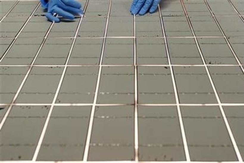 Solar cells for a solar energy panel