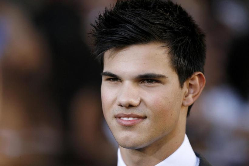 "Lautner poses at the premiere of ""The Twilight Saga: Eclipse"" during the Los Angeles Film Festival at Nokia theatre at L.A. Live in Los Angeles."