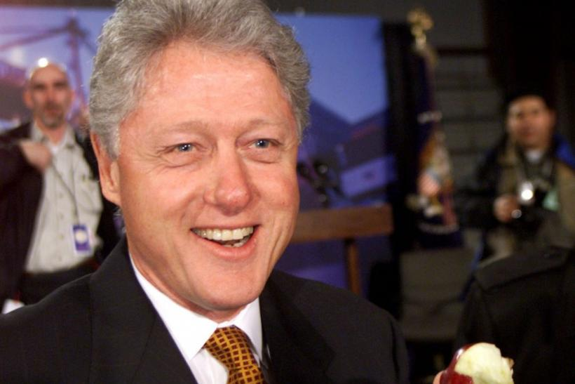 Bill Clinton and Fruit
