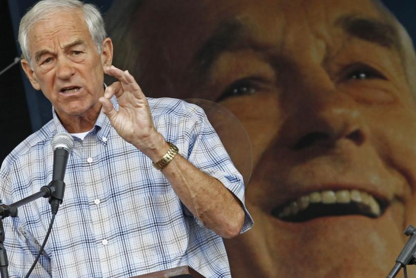 U.S. Ron Paul, R-Texas
